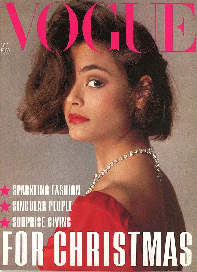 British Vogue Cover December 1983