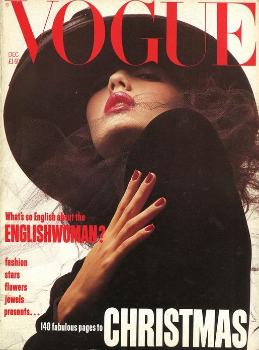 British Vogue Cover December 1984