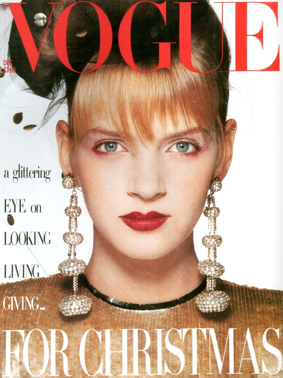 British Vogue Cover December 1985