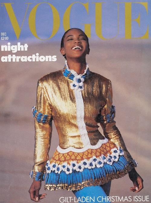 British Vogue Cover December 1987