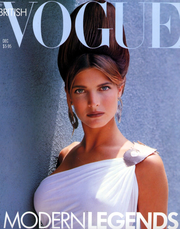 British Vogue Cover December 1988