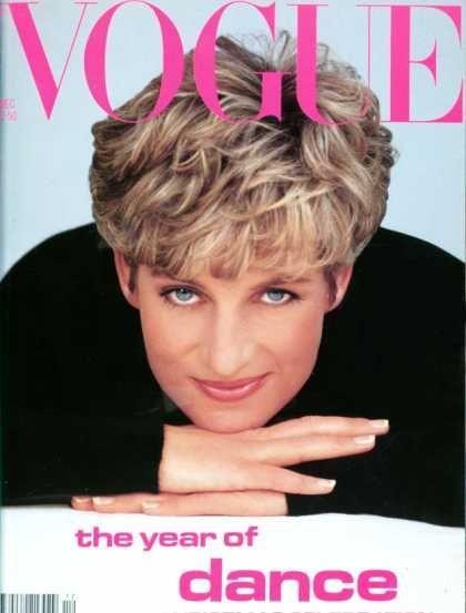 British Vogue Cover December 1991