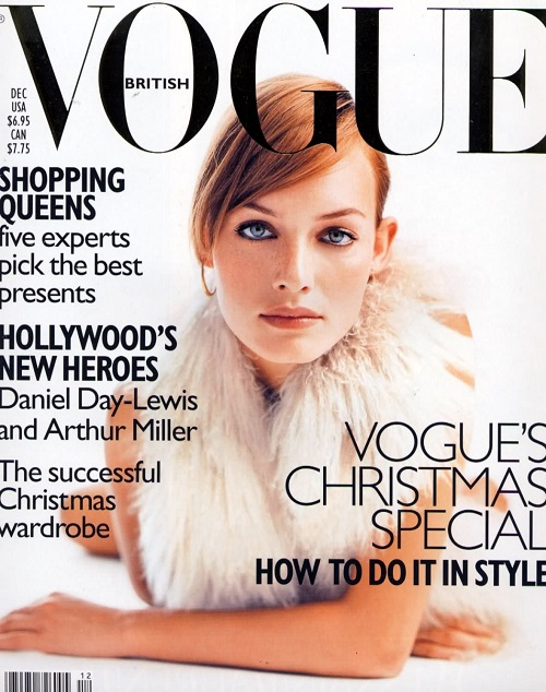 British Vogue Cover December 1996