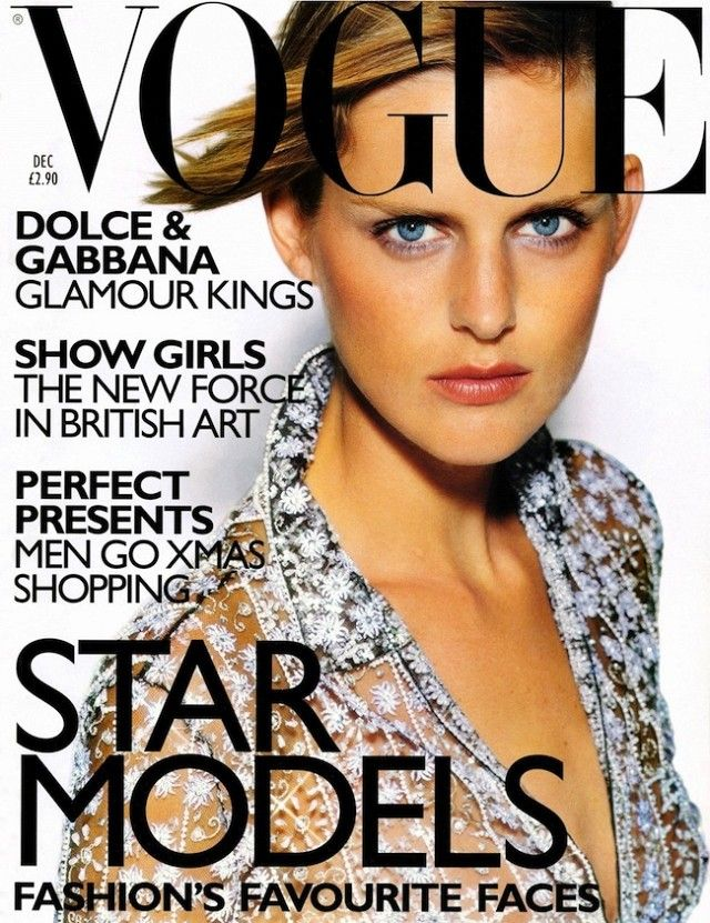 British Vogue Cover December 1997