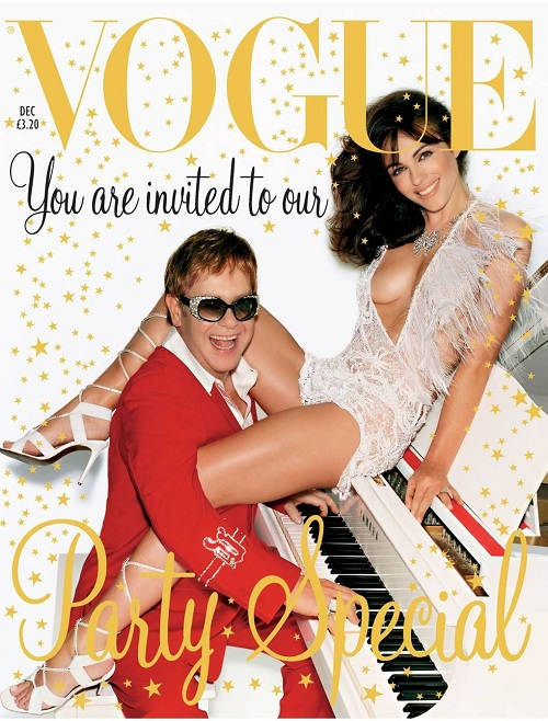 British Vogue Cover December 2002