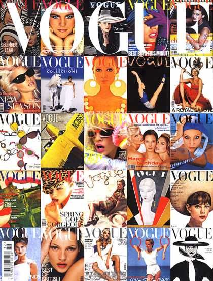 British Vogue Cover December 2006
