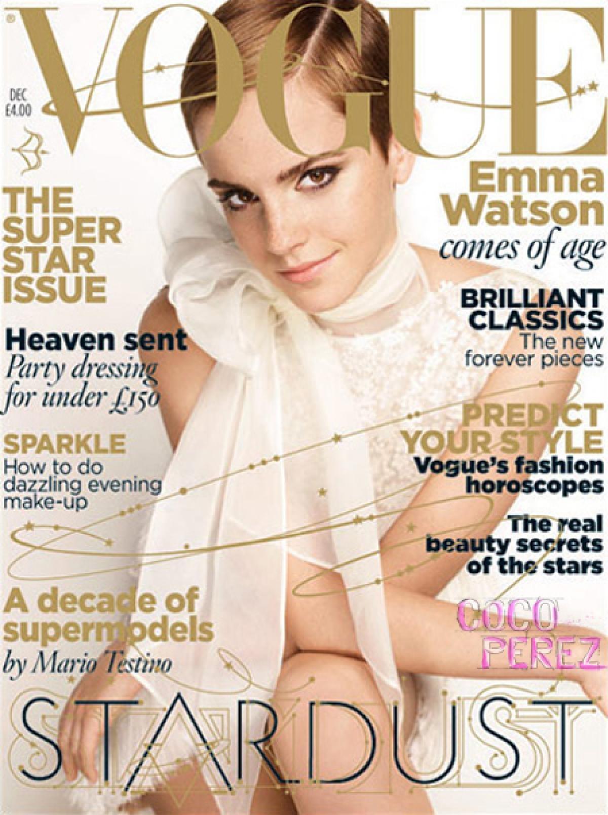 British Vogue Cover December 2010