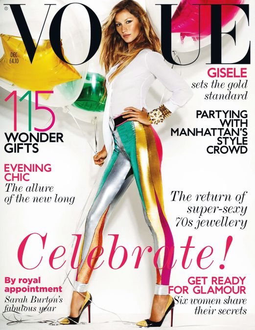 British Vogue Cover December 2011