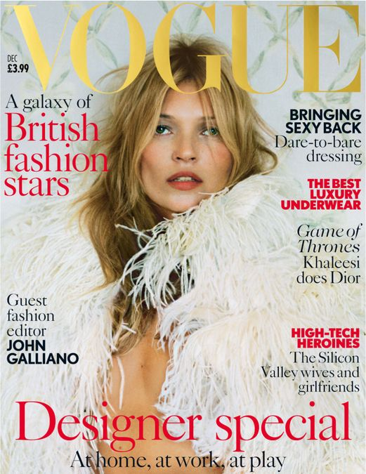 British Vogue Cover December 2013