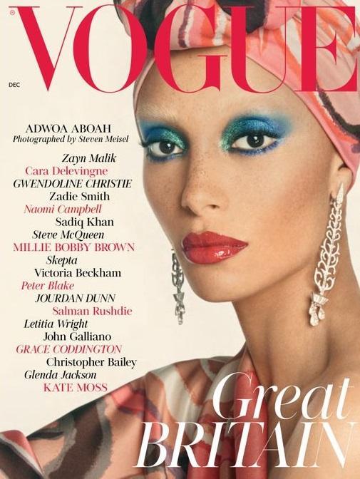 British Vogue Cover December 2017