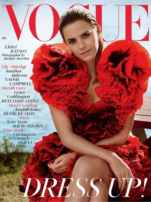 British Vogue Cover December 2019