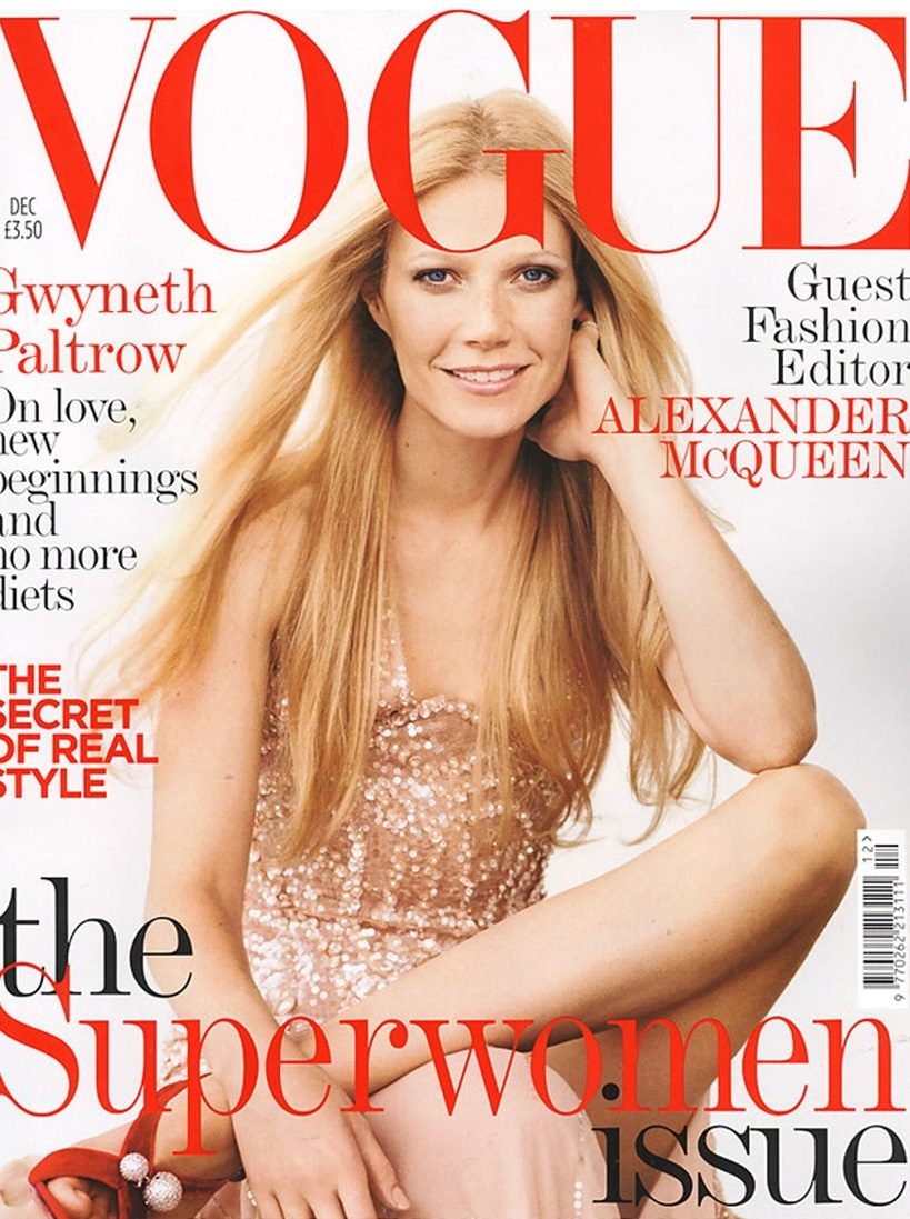 British Vogue Cover December 2005