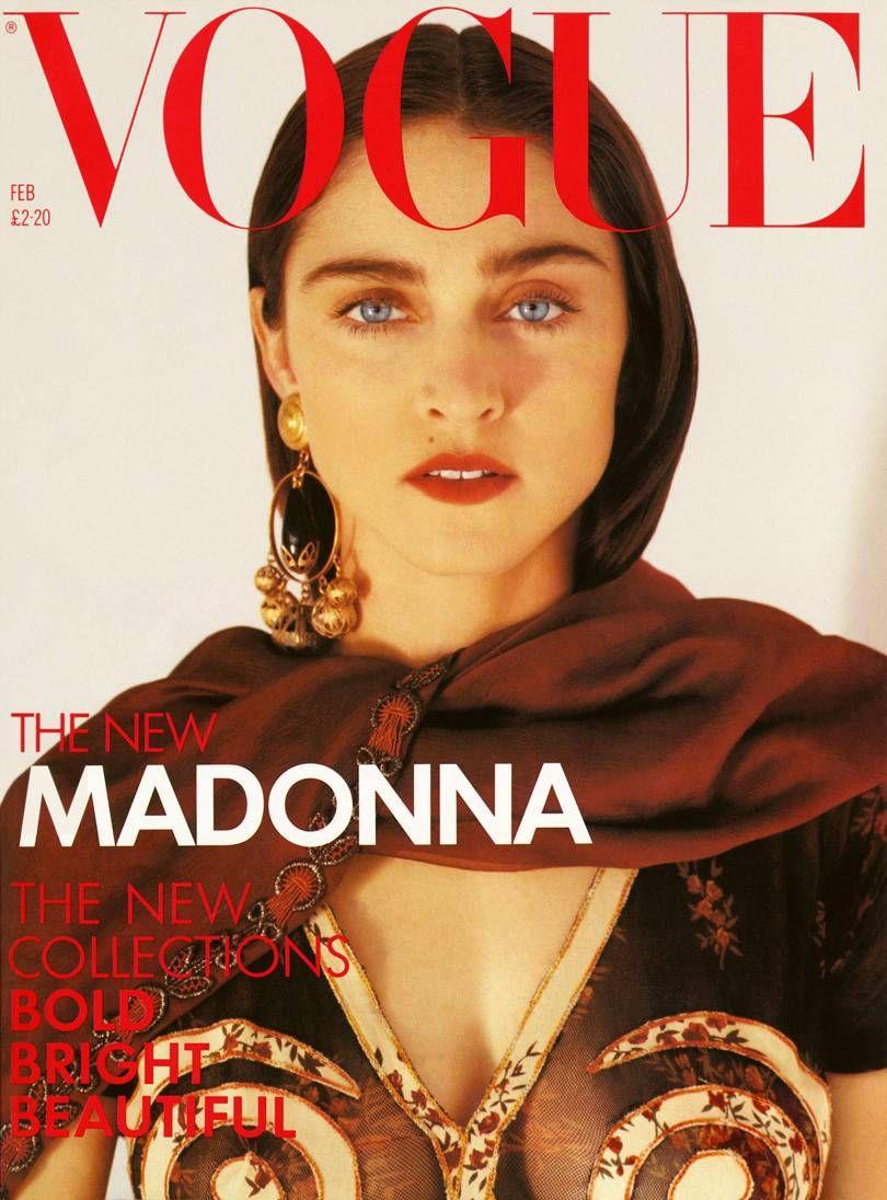 British Vogue Cover February 1989
