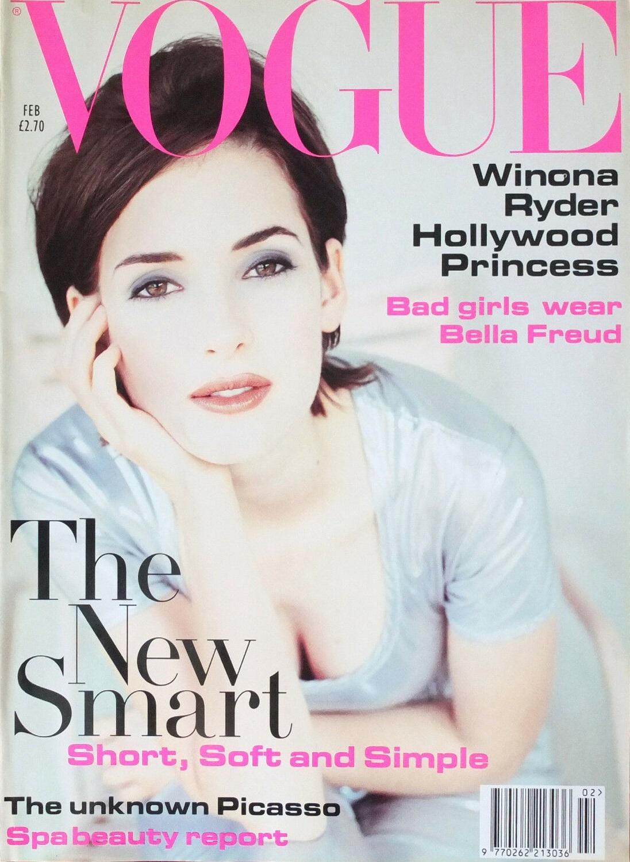 British Vogue Cover February 1994