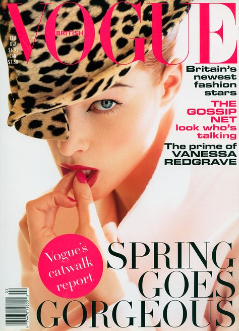 British Vogue Cover February 1995