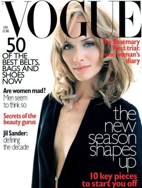 British Vogue Cover February 1996