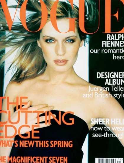 British Vogue Cover February 1997