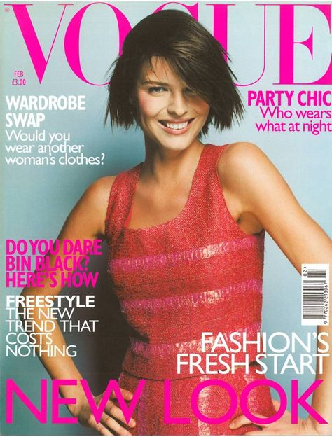 British Vogue Cover February 1999