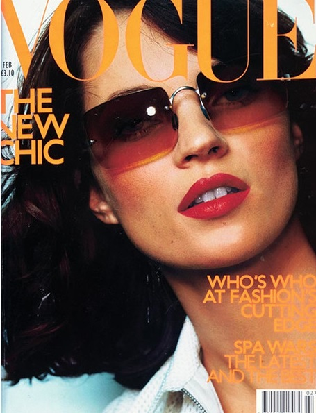British Vogue Cover February 2000