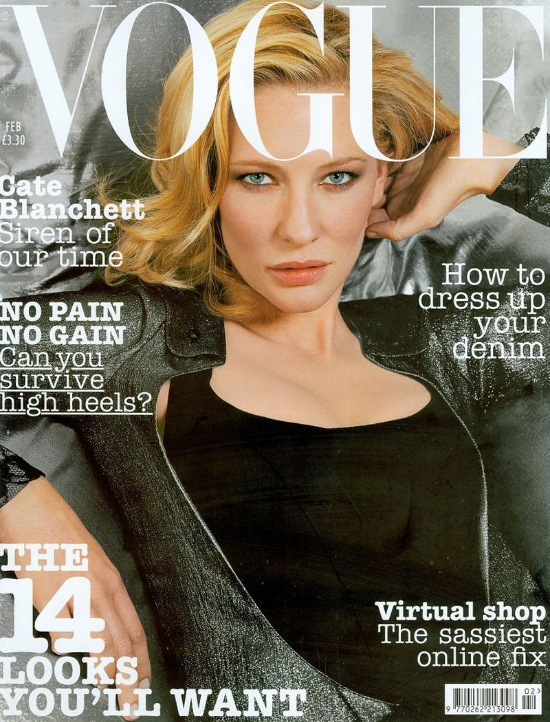 British Vogue Cover February 2004