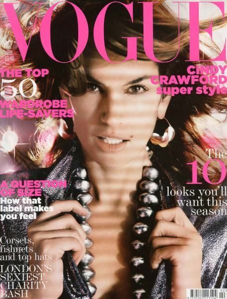 British Vogue Cover February 2005