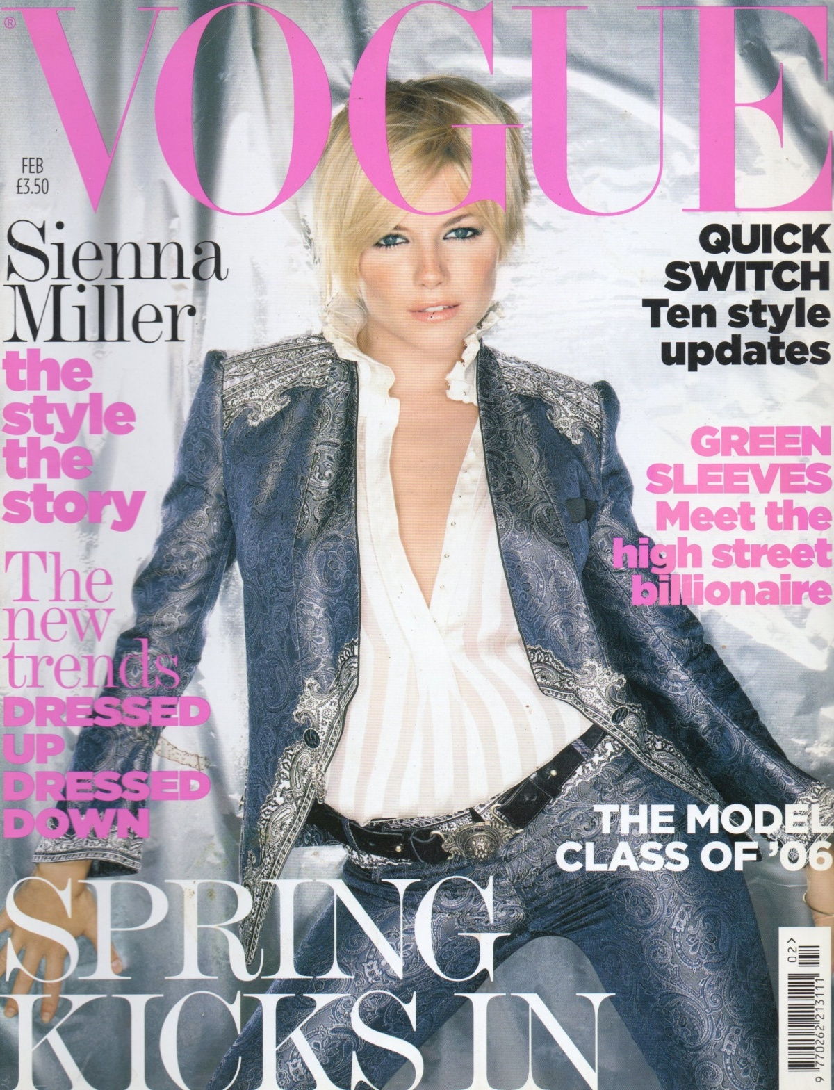 British Vogue Cover February 2006