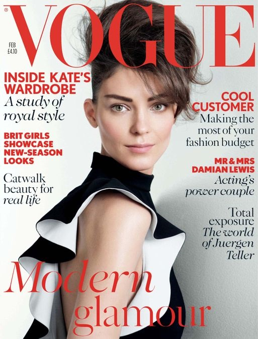 British Vogue Cover February 2013