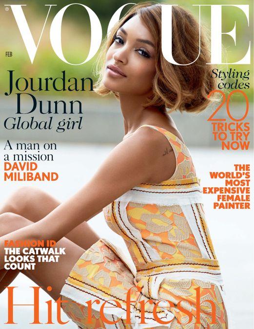 British Vogue Cover February 2015