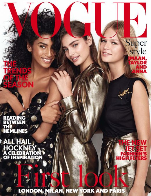 British Vogue Cover February 2017