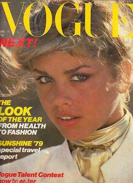 British Vogue Cover January 1979