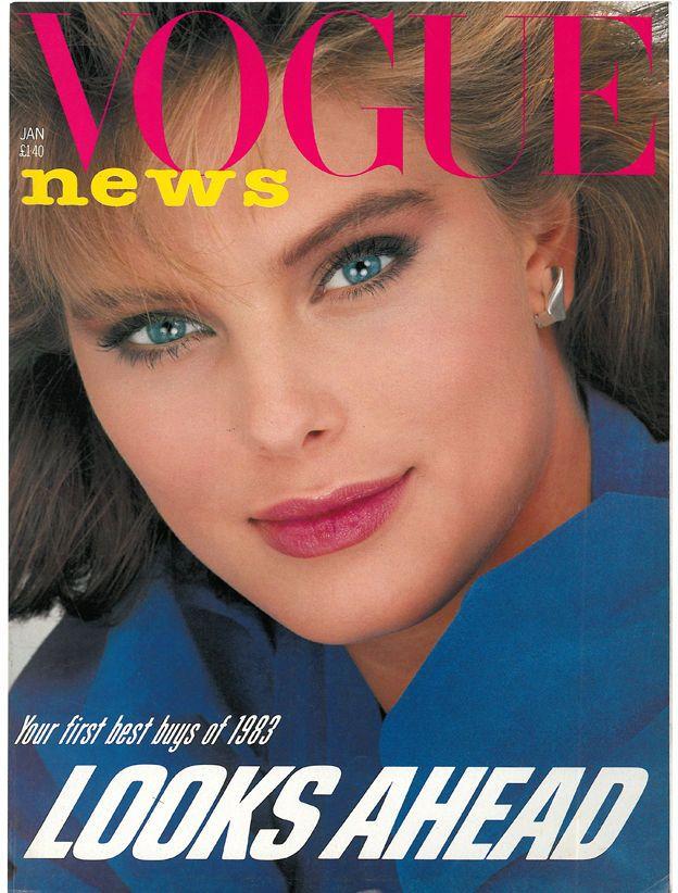 British Vogue Cover January 1983