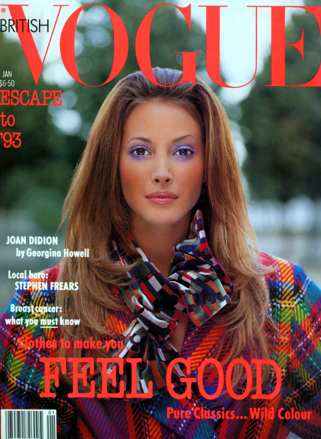 British Vogue Cover January 1993