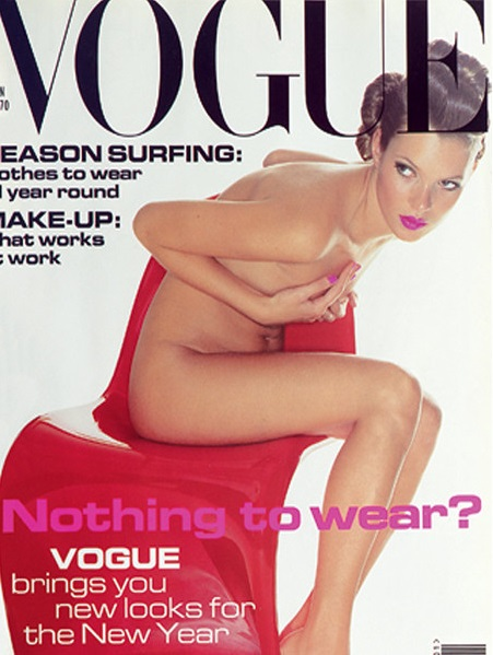 British Vogue Cover January 1995