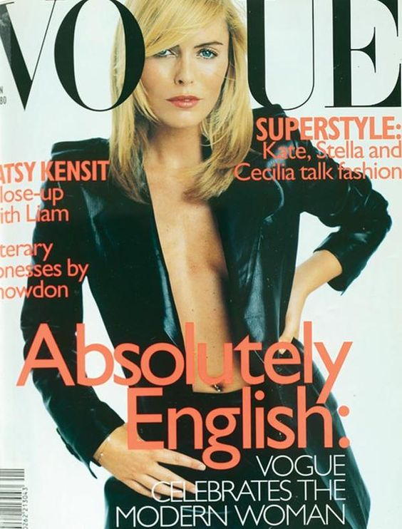 British Vogue Cover January 1997