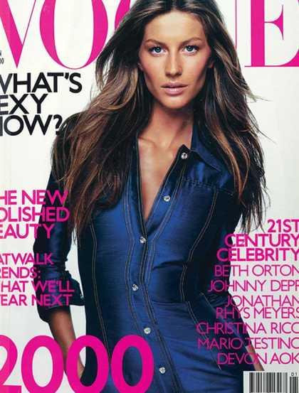 British Vogue Cover January 2000
