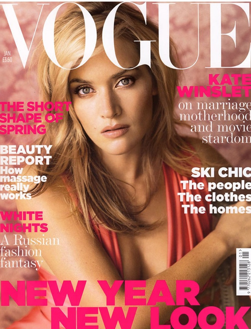 British Vogue Cover January 2007