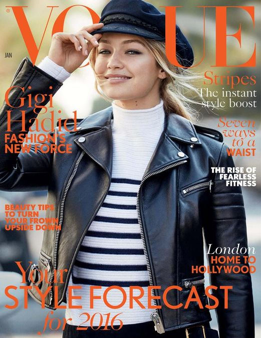British Vogue Cover January 2016