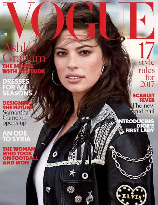 British Vogue Cover January 2017