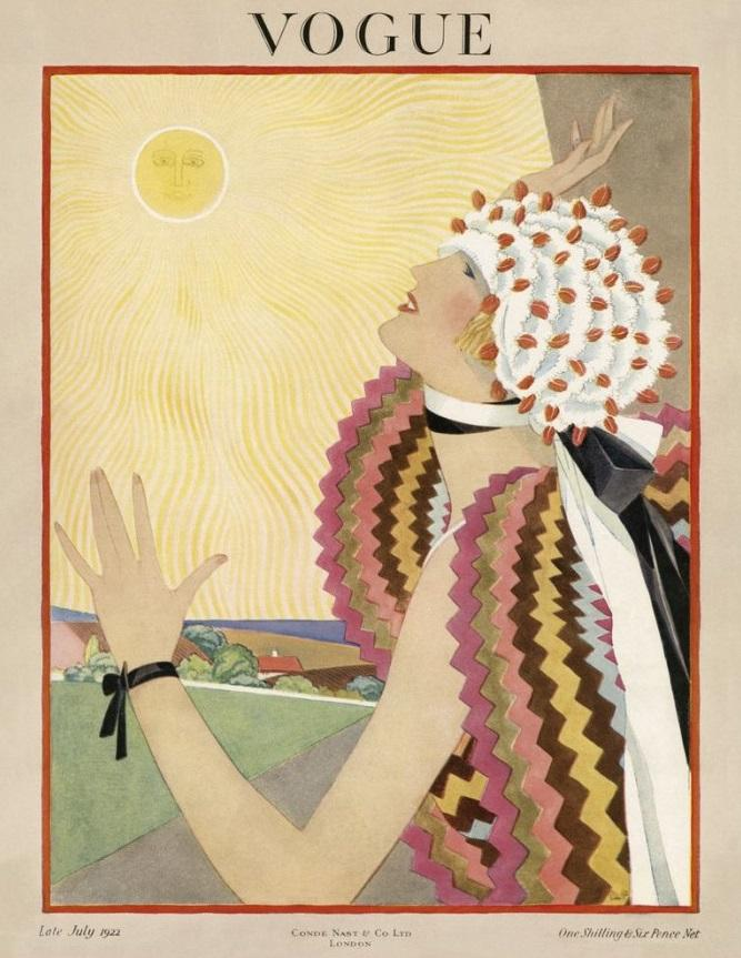 British Vogue Cover July 1922