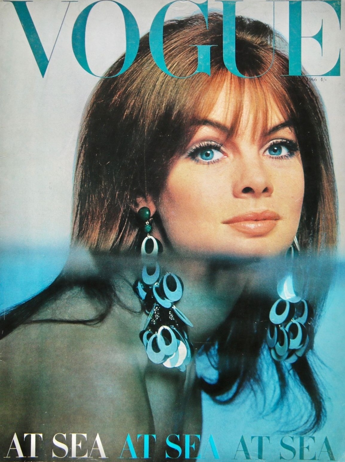 British Vogue Cover July 1966