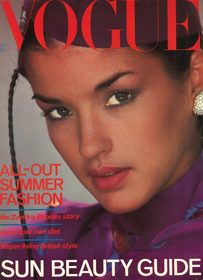 British Vogue Cover July 1978