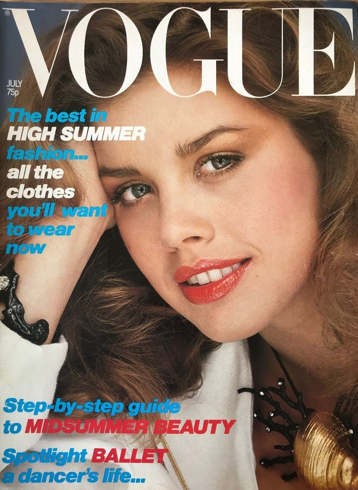 British Vogue Cover July 1979