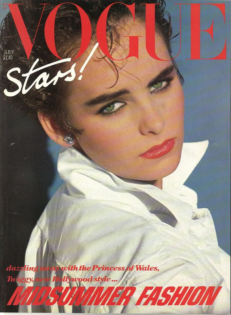 British Vogue Cover July 1983