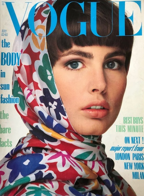 British Vogue Cover July 1985