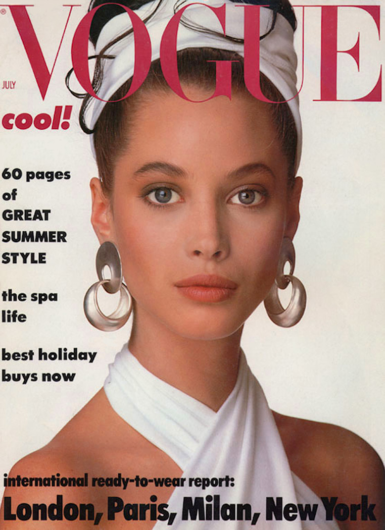 British Vogue Cover July 1986