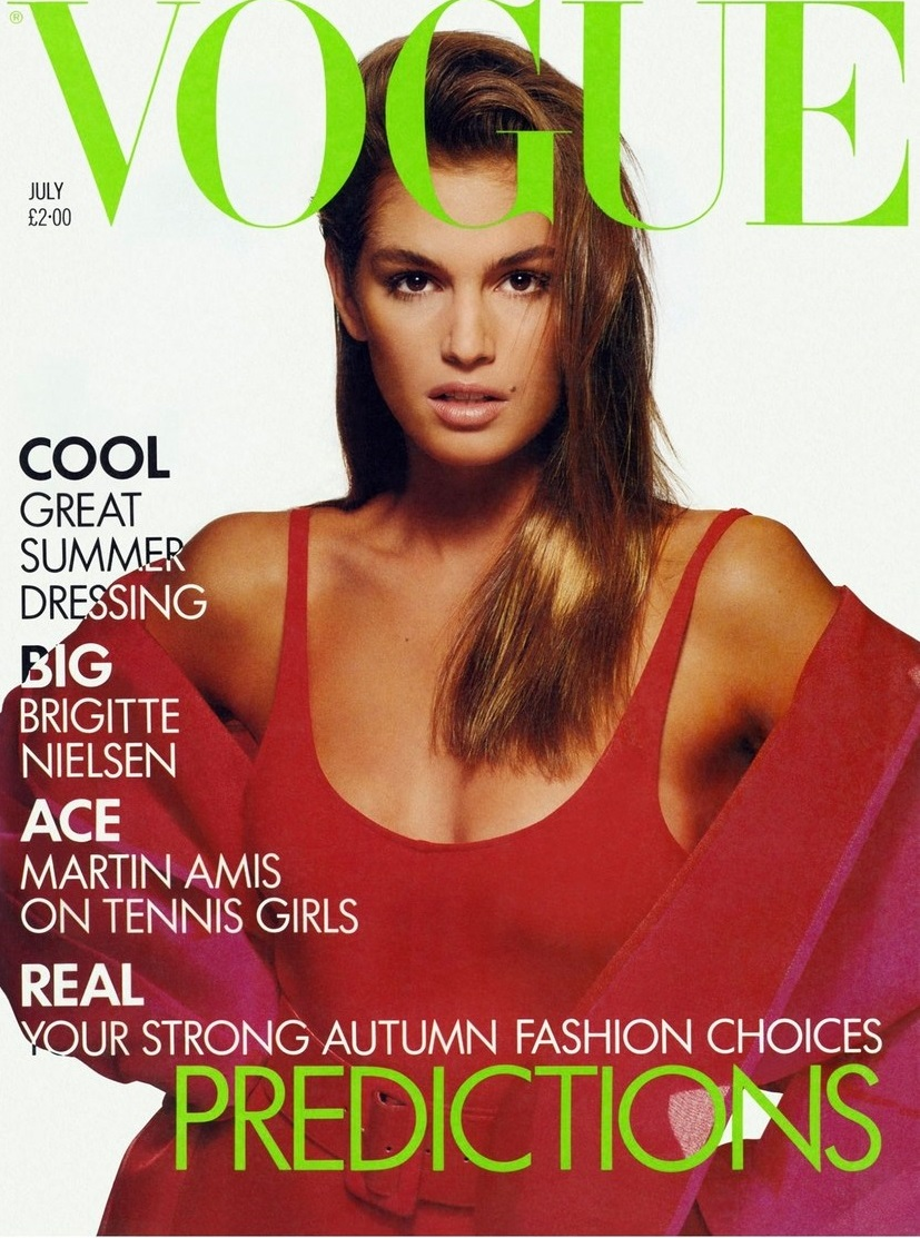 British Vogue Cover July 1988