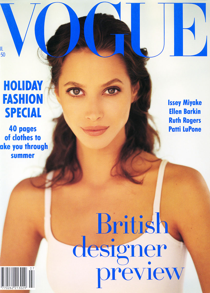 British Vogue Cover July 1993
