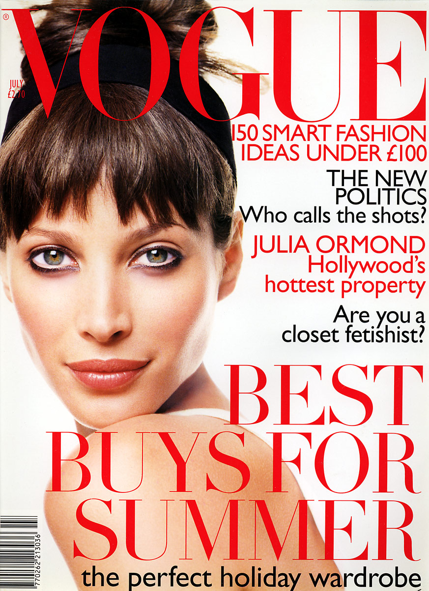 British Vogue Cover July 1995