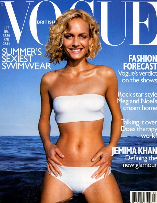 British Vogue Cover July 1998