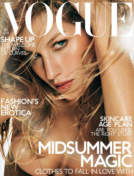 British Vogue Cover July 2001